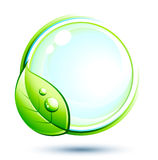 Disegno verde Fotografie Stock