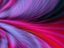 Disegno viola rosso dell'onda Fotografie Stock Libere da Diritti