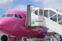 Disembarkation pasażery obraz stock