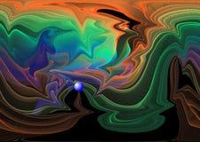Diseño abstracto. Imágenes de archivo libres de regalías