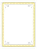 Diseño clásico del marco Foto de archivo