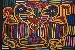 Diseño colorido de la materia textil. Imagen de archivo libre de regalías