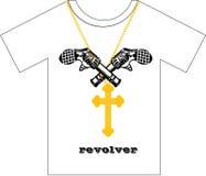 Diseño de la camiseta Foto de archivo libre de regalías