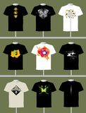Diseño de la camiseta Fotografía de archivo