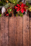 Diseño de la frontera de la Navidad Fotos de archivo libres de regalías