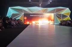 Diseño de la iluminación de la etapa Imagen de archivo