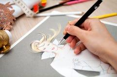 Diseño de la manera Foto de archivo libre de regalías
