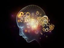 Diseño de la mente Imagenes de archivo