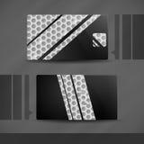 Diseño de la tarjeta de visita. Imagen de archivo libre de regalías