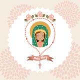 Diseño de la Virgen Fotos de archivo