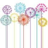 Diseño de las flores Foto de archivo