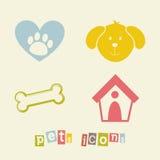 Diseño de los animales domésticos Imagen de archivo libre de regalías