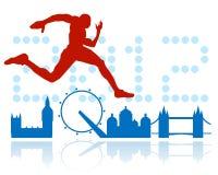 Diseño de los Juegos Olímpicos de Londres Fotografía de archivo libre de regalías