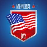 Diseño de Memorial Day Fotografía de archivo