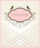 Diseño de tarjeta de la vendimia Imagenes de archivo