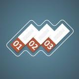Diseño del cuadro de texto Imagen de archivo libre de regalías