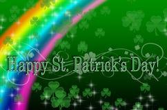 Diseño del día de St Patrick Imagen de archivo libre de regalías