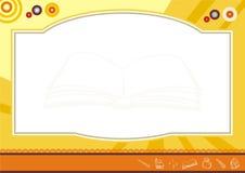 Diseño del diploma del niño - nuevo y diversión Fotografía de archivo libre de regalías