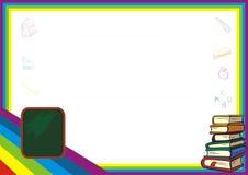 Diseño del diploma del niño - nuevo y diversión Imagen de archivo
