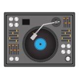 Diseño del disc jockey Foto de archivo libre de regalías