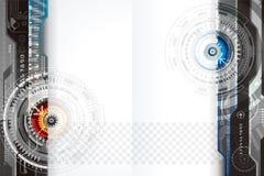 Diseño del fondo de la tecnología Imágenes de archivo libres de regalías