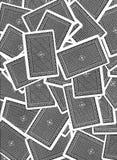 Diseño del fondo de las tarjetas que juegan Fotografía de archivo libre de regalías