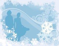 Diseño del invierno Fotografía de archivo