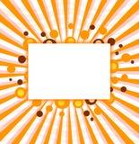 Diseño del marco del partido de Víspera de Todos los Santos Imagen de archivo libre de regalías