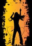 Diseño del partido de danza Imagenes de archivo