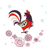 Diseño del pollo Imagenes de archivo