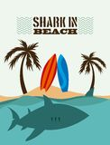 Diseño del tiburón Fotografía de archivo libre de regalías