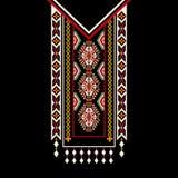 Diseño del vector para las camisas del cuello, blusas Imagen de archivo libre de regalías