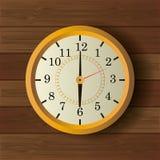 Diseño del vintage del reloj de tiempo Imágenes de archivo libres de regalías