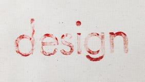 Diseño en lona Imágenes de archivo libres de regalías
