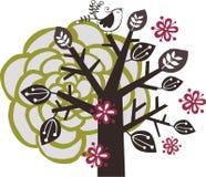 Diseño encantador del árbol Imagen de archivo