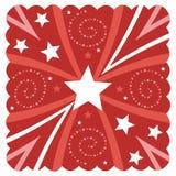 Diseño estrellado Imágenes de archivo libres de regalías