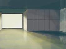 Diseño interior del pasillo Imagen de archivo libre de regalías