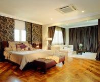 Diseño interior - dormitorio Fotos de archivo