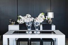 Diseño interior en hogar moderno Foto de archivo libre de regalías