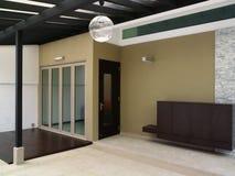 Diseño interior - salón Fotografía de archivo libre de regalías