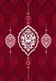 Diseño limpio del otomano tradicional Fotos de archivo libres de regalías