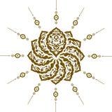 Diseño limpio del otomano tradicional Foto de archivo libre de regalías