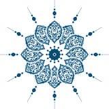 Diseño limpio del otomano tradicional Imágenes de archivo libres de regalías