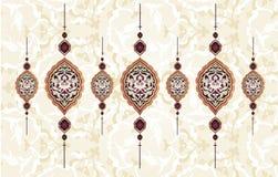 Diseño limpio del otomano tradicional Fotografía de archivo