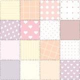 Diseño que acolcha rosado Imagen de archivo