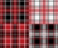 Diseño tejido inconsútil de Plaid Textile Graphic del leñador Imagenes de archivo