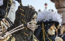 Disfarce de esqueleto Imagens de Stock Royalty Free