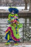 Disfraz colorido Fotografía de archivo