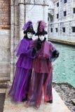 Disfraz veneciano Fotos de archivo libres de regalías