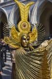 Disfraz veneciano Fotos de archivo